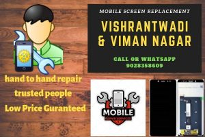 mobile phone repair in Vishrantwadi and viman nagari