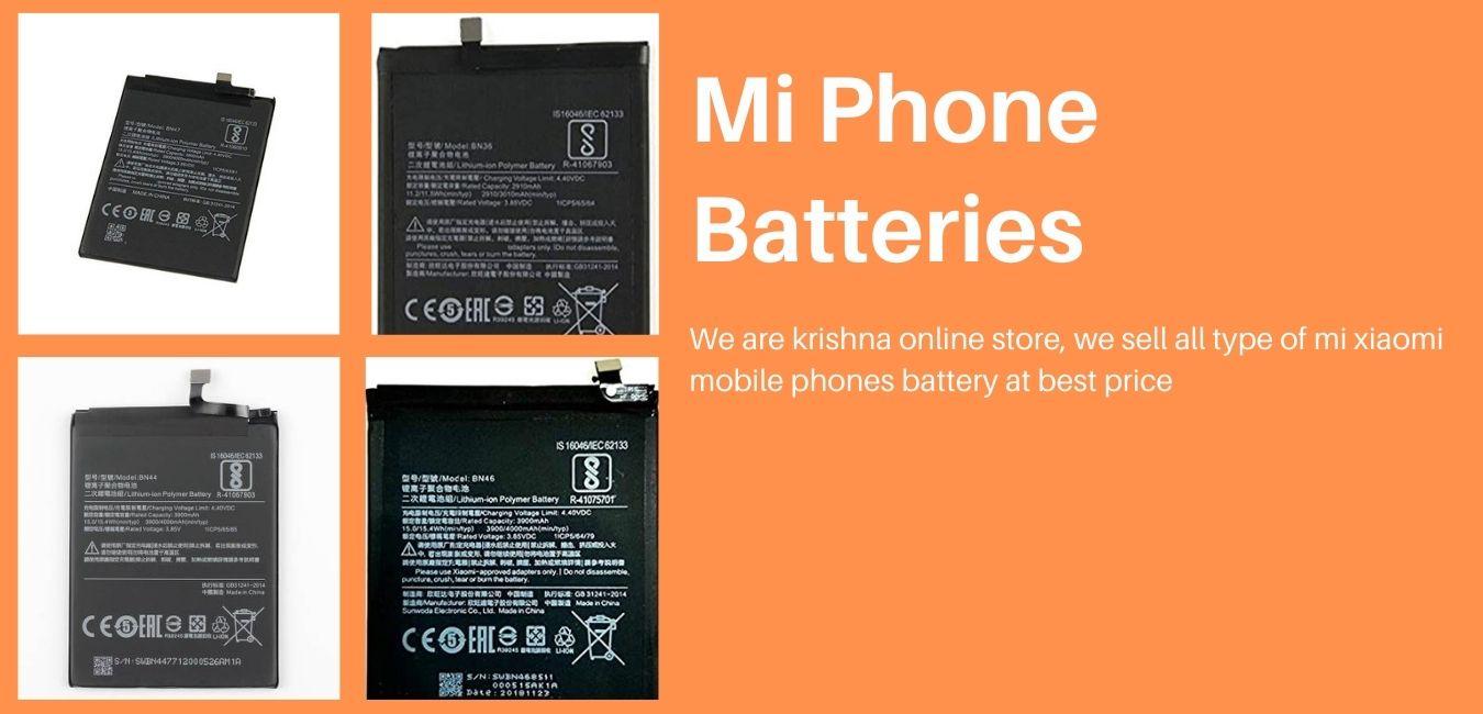 Purchase Mi Phone Batteries